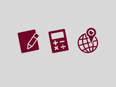 Delivery Icons icon register calculate calculator track tracking delivery express