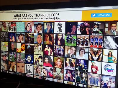 Thankstweeting website holiday thanksgiving twitter hashtag thankful