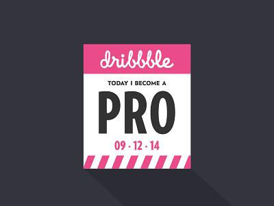 Pro Shot dribbble pro ticket