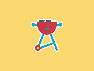 Summer is for grilling stickermule bbq grill summer