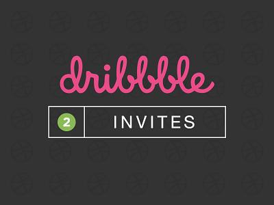 2 Dribbble Invites giveaway prospect draft invitation invites
