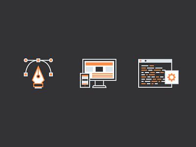 Services Icons icons development design branding services