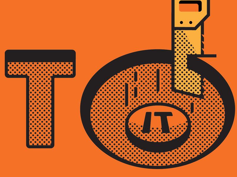 Cut__Out Detail halftone type closeup logo dots
