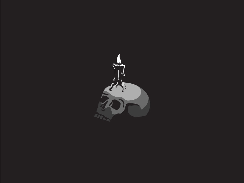 Spooks Day 01 shadows dark light skull halloween