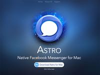 Astro Messenger Homepage