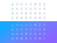 Minimal icon set - E-commence theme