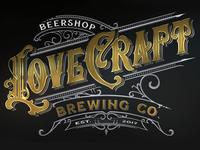 Lovecraft Brewing - logo design