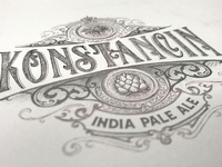 Konstancin Label - sketch