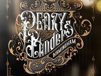 Peaky Blinders fan art design