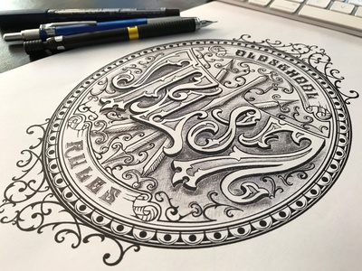 TL87 Tattoo Draft typografia gafika monogram bydgoszcz mikstura morawski tattoo craft design handlettering typography