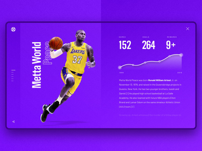 Motion Design | Metta World Peace