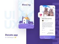 Donation App Design Concept