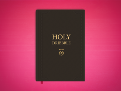 Holy Dribbble debut holy dribbble book