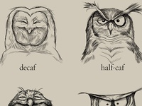 dribbbling caffeine