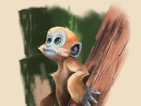 leaf monkey character
