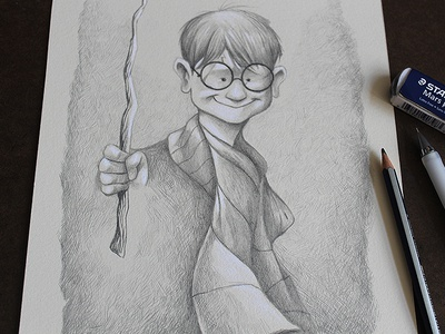 Young Harry harry potter illustration character design character development