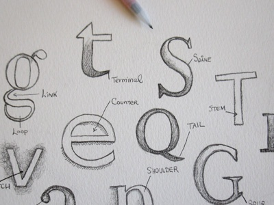 Love Your Typeface letters sketch pencil drawing pencil typography