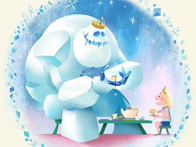 Tea Party illustration marshmallow childrens book