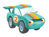 The Little Race Car
