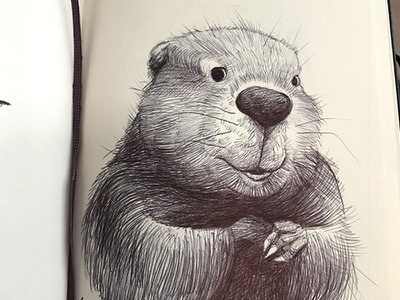 Narnian Things ink sketchbook illustration