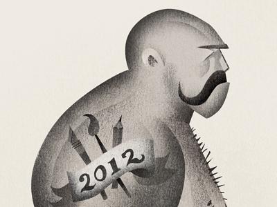 2012 illustration brawler 2012 new year resolutions