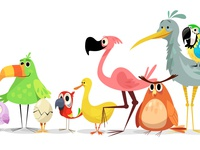 Count to Ten character character development character design illustration app learning khan academy