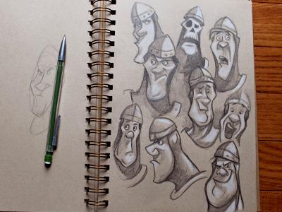 Dirk illustration sketches pencil sketch don bluth dragons lair