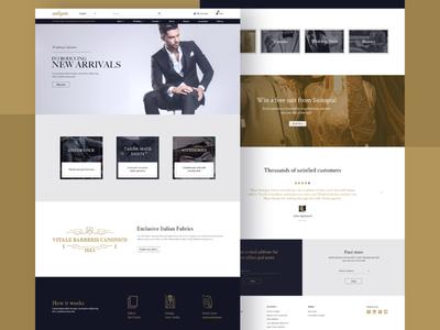 Suitopia - Shop Clothing Landing Page
