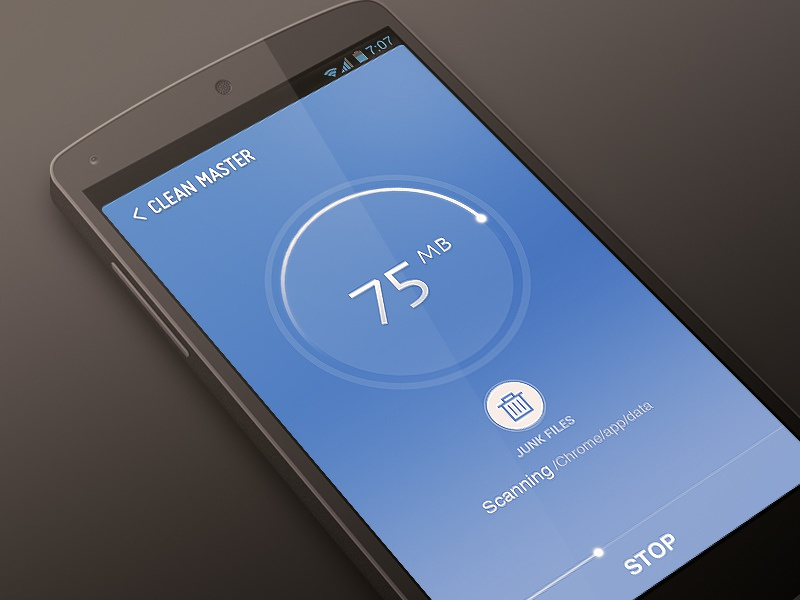 CMCM  cmcm ui drogohui apps scanning detect clear