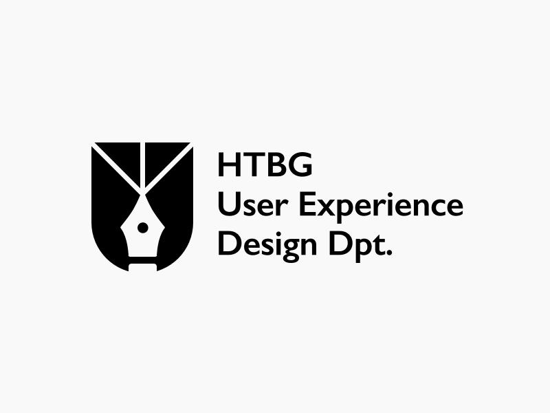 HTBG User Experience Design Dpt. 2 pen shield logo