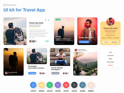 UI Kit - Traveller