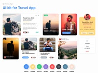 UI Kit - Traveller