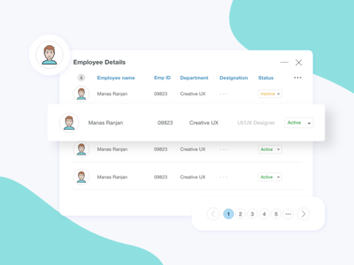 Day 24, Grid based Employee Details