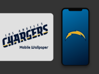 Chargers iPhone Wallpaper