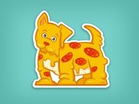 Pupperonni Pizza