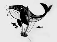 Inktober #12: Whale