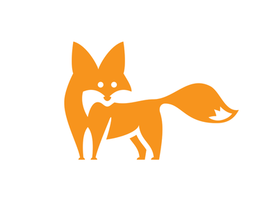 Fox nature animal brandora fox logo vector illustration branding design brand logo
