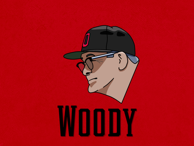 Woody Hayes Drawing osu coach football ohio state icon illustration columbus