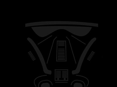 Deathtrooper star wars icon affinity designer vector design