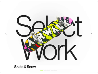 Snowblinded Portfolio Website design ux international style swiss modern interface minimal web design webdesign typography product designer print illustrations animation skateboard boulder web denver colorado