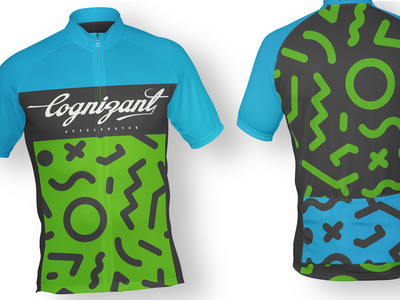 Cognizant Accelerator Cycling Jersey brand identity cycling kit cyclist endurance colorado campagnolo campy fashion apparel print sport boulder jersey bicycle kit cycling