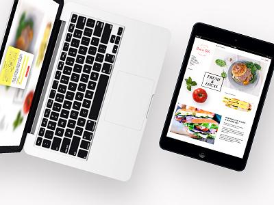 Denver Deli Sandwich Builder UI motion dailyui web user interface ui responsive