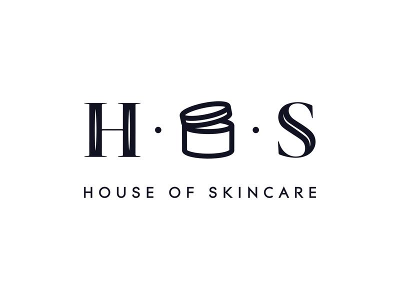 House of Skincare Logo illustraion icon skincare logo beauty logo typography identity logo design vector logo branding