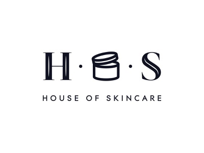 House of Skincare Logo illustraion icon skincare logo beauty logo typography identity logo design vector logo branding