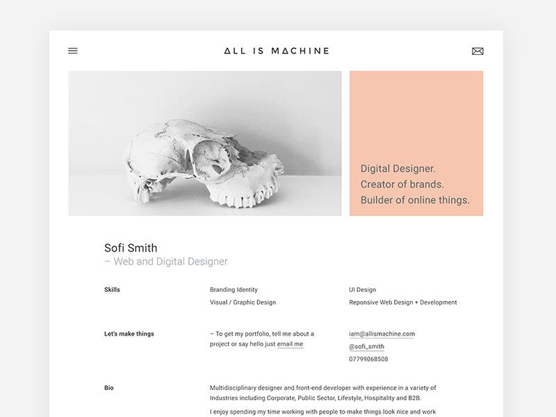 Personal / Freelance Portfolio Design grid freelance branding ui pastel swiss design minimal flat grotesque web design design portfolio