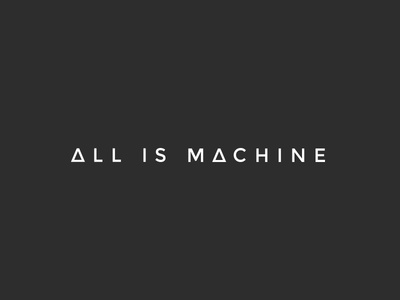 All is Machine Logo
