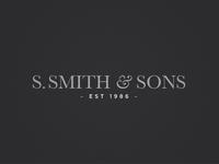 Smith & Sons Logo Refinement