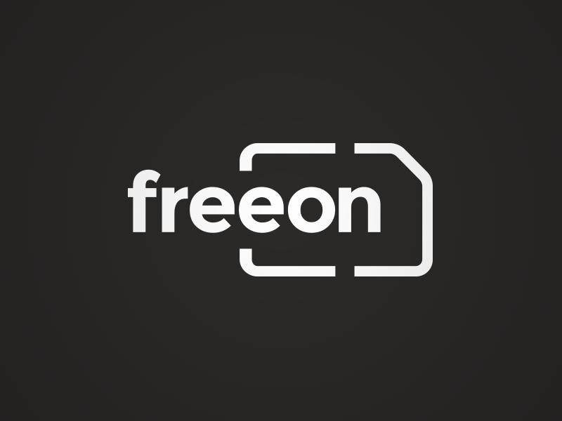 Logo Design for a New Mobile Network identity design outline vibrant simple sim minimal logo identity card mobile branding brand
