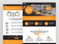 Website Design + Build for Mobile Network