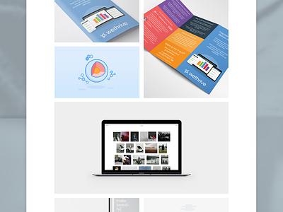 Personal Portfolio website redesign and build layout design gallery clean portfolio web design white minimal grid website
